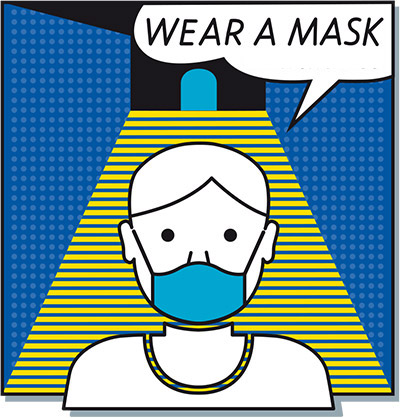 Wear a mask (Graphic)
